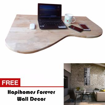 Harga Hapihomes Mothly Folding/Hanging Table FREE Forever Wall Decor