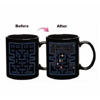 Pac-Man Magic Mug Heat Sensitive Changing Color Changing Design Mug Price Philippines
