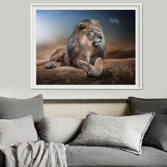 Harga Lion 5D Diamond DIY Painting Craft Kit Home Decor - intl
