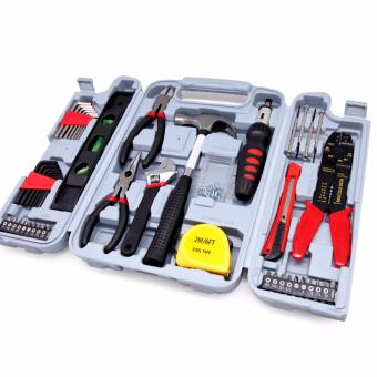Harga East Tools DT6037 Hand Tool Set 130-Piece Household Tool Kit - intl
