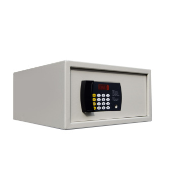 iSAFE Electronic Digital Electronic LCD display safe box, with electric motor (Beige) Price Philippines