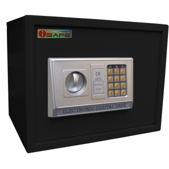 iSAFE iSF-30BLK Safe Electronic Digital Safety Vault (Black) Price Philippines