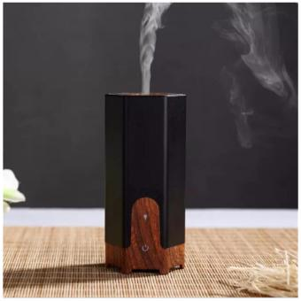 Ultrasonic Aroma Diffuser Manual Humidity Control Dancing Room Diffuser 60ml Oil Diffuser 8 Hours Diffusing Time Air Purifier for Coffee Shop, Clothing Store, Yoga Room (black) - intl Price Philippines