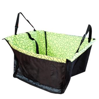 Car Back Seat Dog Carrier Mat (Green) Price Philippines
