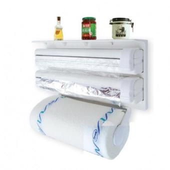 QF Triple Paper Dispenser/Holder (White) Price Philippines