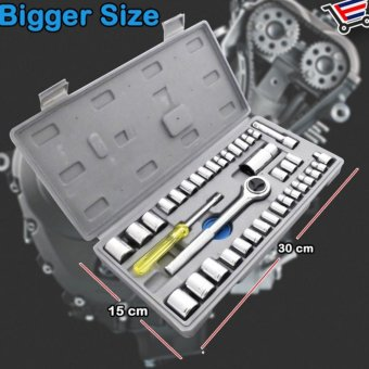 QF Best Quality 40 Pcs Auto Repair Hand Tool Combination Socket Wrench Set Price Philippines
