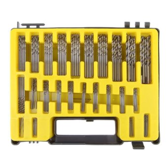 Harga 150Pcs Mini Twist Drill Bit Kit HSS Micro Precision