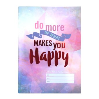 Harga The Paper Stone Jotter Notebook (Do More of What Makes You Happy)