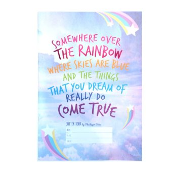 Harga The Paper Stone Jotter Notebook (Somewhere Over The Rainbow Where Skies are Blue and The Things That You Dream of Really Do Come True )