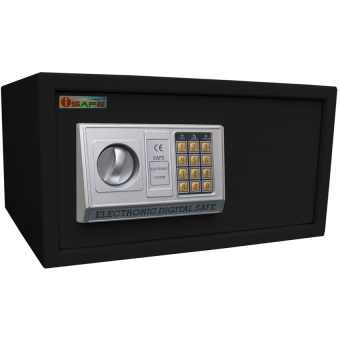 iSAFE iSF-40BLK Safe Electronic Digital Safety Vault (Black) Price Philippines