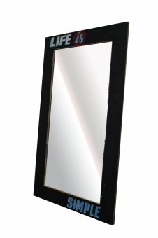 Harga Hapihomes LIFE MIRROR Wall Decoration