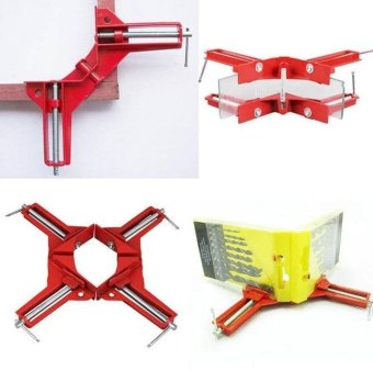 Harga Fengsheng 4Pcs 90° Right Angle Clamp 100mm Mitre Corner Clamps Picture Frame Holder Woodwork Right Angle - intl