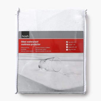Hosh Fitted Waterproof Twin-size Mattress Protector Price Philippines