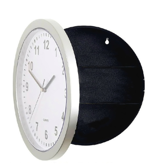 Harga Novelty Wall Clock Diversion Safe Secret Stash Money Cash Jewelry Security Lock Box