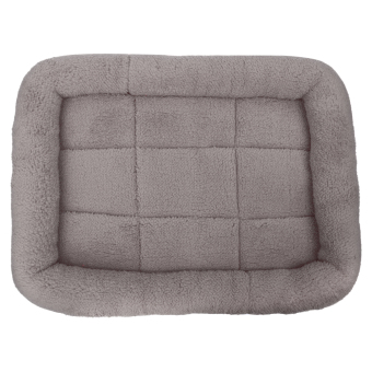 Harga Pet Bed Cushion Mat Pad Dog Cat Cage Kennel Crate Warm Cozy Soft House (Grey) (L) - intl