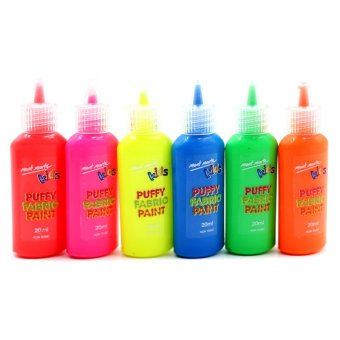 Harga Mont Marte Kids Colour Puffy Fabric Paint