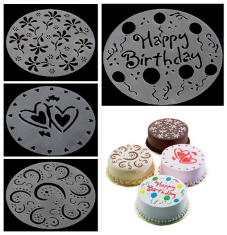 Eco Friendly Flower Heart Print Stencils Mold Decorating Mode Bakery Tools Price Philippines
