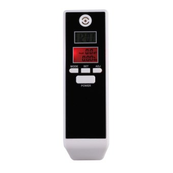 Harga Breath Alcohol Tester with Backlight Breathalyzer Driving Essentials - intl