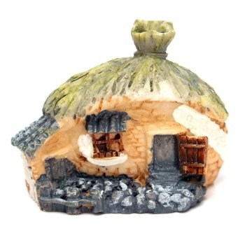 Micro Resin House Fairy Cottage Garden Landscape Moss Garden Ornament - Intl Price Philippines