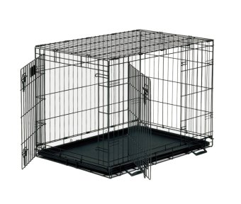 Harga Pet Cage With Tray Size 4 (Black)