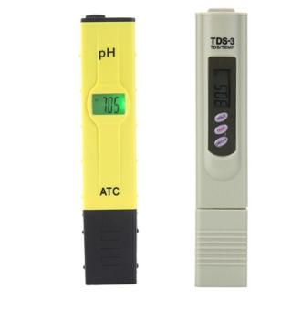Leegoal Digital PH Meter TDS PH Tester High Accuracy With Backlit LCD Display For Water Quality PH Testing, Yellow+Gray - intl Price Philippines