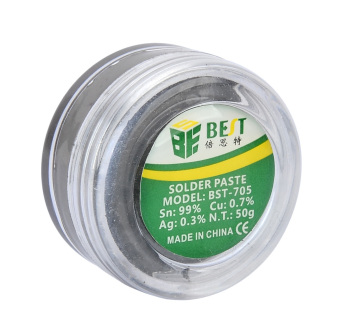 Harga BEST BST-705 Lead-free Soldering Paste - Blue
