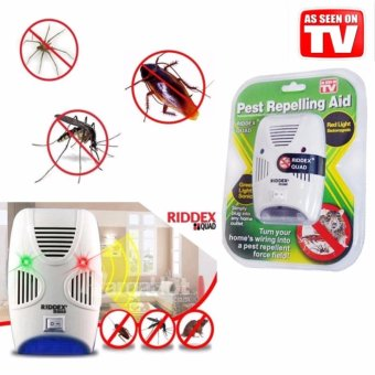 Harga Rising Star Riddex Quad Pest Repelling Aid Repeller Control Insect Rat Repellent (As Seen On TV)