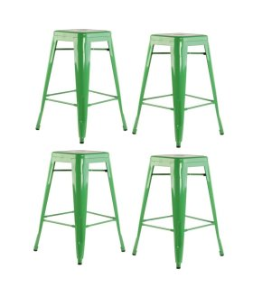 Modliving Tolix Barstool Set of 4 (Green) Price Philippines