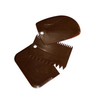 3 Styles Dough Cake Cookie Scraper (Brown) Price Philippines