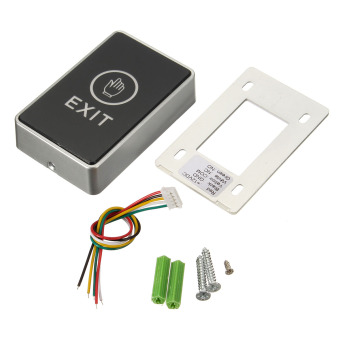 Harga push touch exit button door eixt release button for access control system
