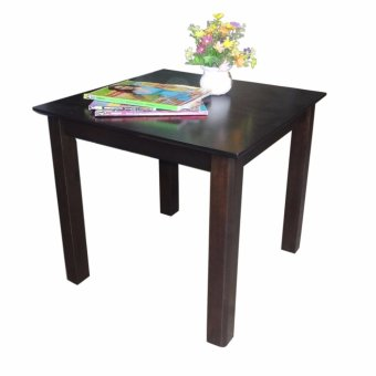 Harga Hapihomes Origin Blake All Wood Side/Coffee Table (black)