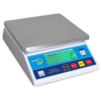 Harga Number One NKS-6 Digital Kitchen Scale (White)