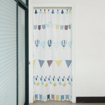 Mimosifolia Nordic simplicity style Door Curtains Bedroom curtain Room Dividers curtain 85X190CM 1PCS - intl Price Philippines