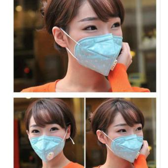 Harga 10 pcs New PM2.5 Anti Dust And Anti Fog And Haze Breathing Valve Masks - intl