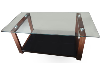 Harga Hapihomes Robert Center table (Glass Top)