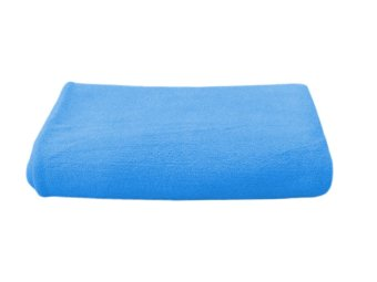 Harga Happy Bee Microfiber Towel (Blue)