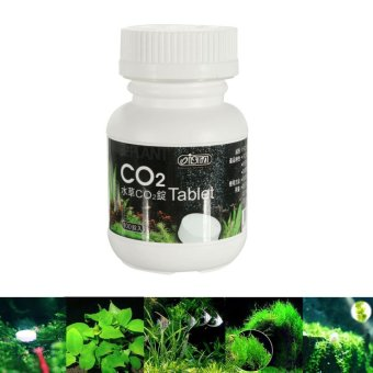 100pcs CO2 Tablet Carbon Dioxide Aquarium Plants Moss Fish Tank Diffuser ISTA - intl Price Philippines