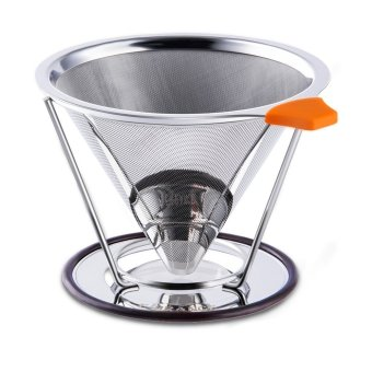 Funlife Pour Over Coffee Filter Stainless Steel Reusable Drip Cone Microfilter Kettle Price Philippines