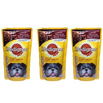 PEDIGREE POUCH Grill Liver Loaf with Vegetables 130g Set of 3