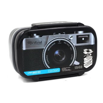 Wallmark Retro Camera Shutter 5 Piece Bento Box Lunch Box Price Philippines