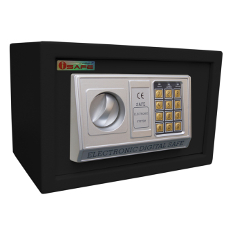 iSAFE iSF-20BLK Safe Electronic Digital Hotel Safety Vault Small Size (Black) Price Philippines