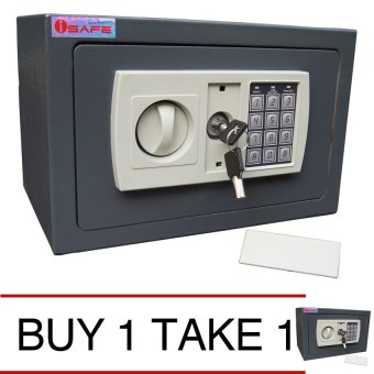 iSAFE iSF-20DG Safe Electronic Digital Safety Vault (Grey) BUY 1 TAKE 1 Price Philippines