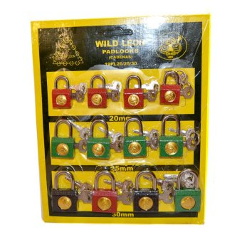 Harga Wild Leon Padlocks Set of 12