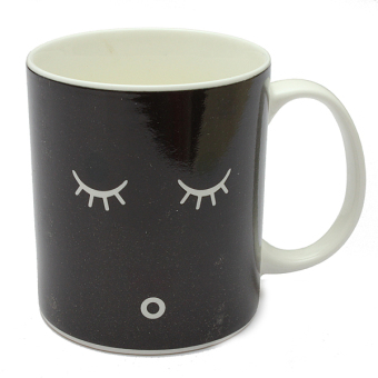 Magic Morning Mug Heat Sensitive Color Change Coffee Milk Cup Mug Best Xmas Gift Price Philippines