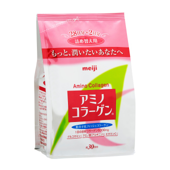 Meiji Amino Collagen Refill Pack 200g (Pink) Price Philippines