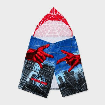 Harga Spiderman Kids Hooded Towel