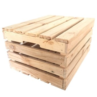 Harga Wood Crates with Lid (Large-Tall)