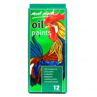Harga Mont Marte Oil Paints
