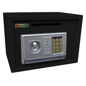 iSAFE iSF-25HBLK Safe - Electronic Digital Drop Hole Safety Vault (Black) Price Philippines