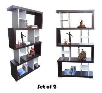 Harga Hapihomes Haiku Display Cabinet Divider SET Of 2 (Two)